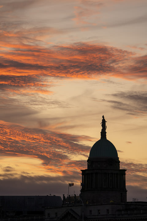 Photograph of Customs House Sunset 2