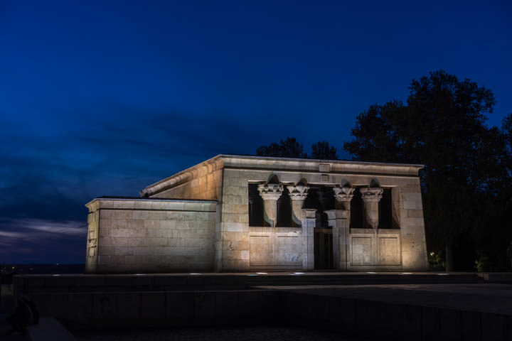 Debod Temple 1 Madrid