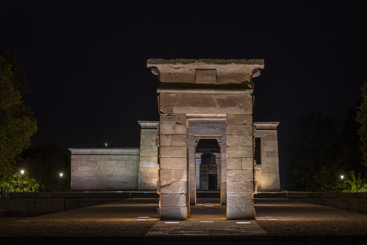 Photograph of Debod Temple 2 Madrid