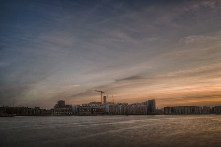 Photograph of Deptford at Dusk