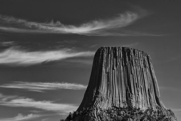 Photograph of Devils Tower 1