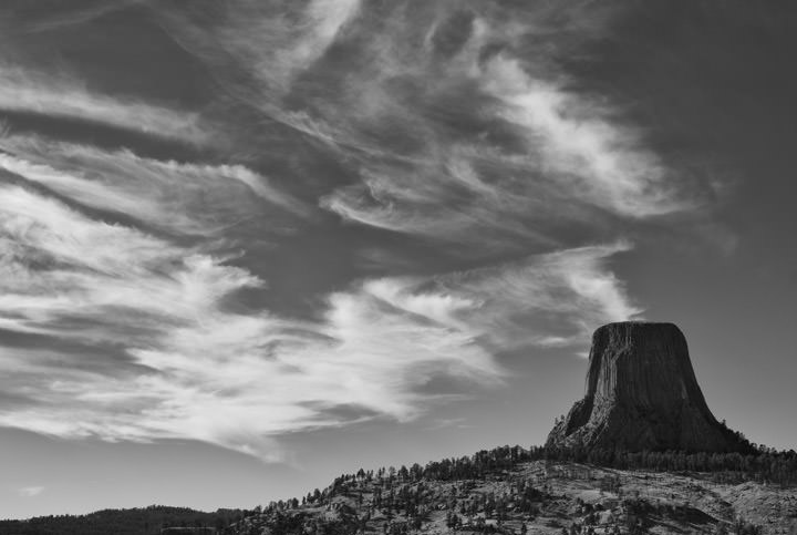 Photograph of Devils Tower 2