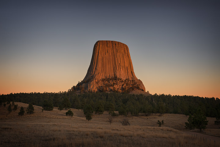Photograph of Devils Tower 3