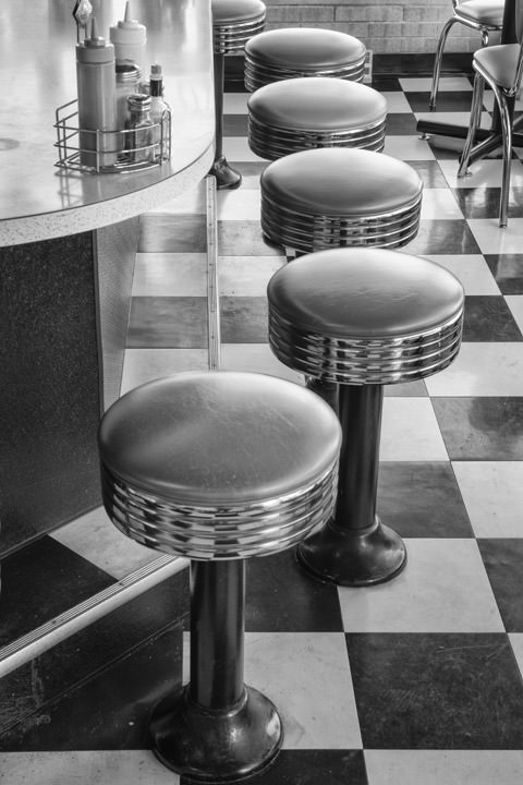 Photograph of Diner Stools