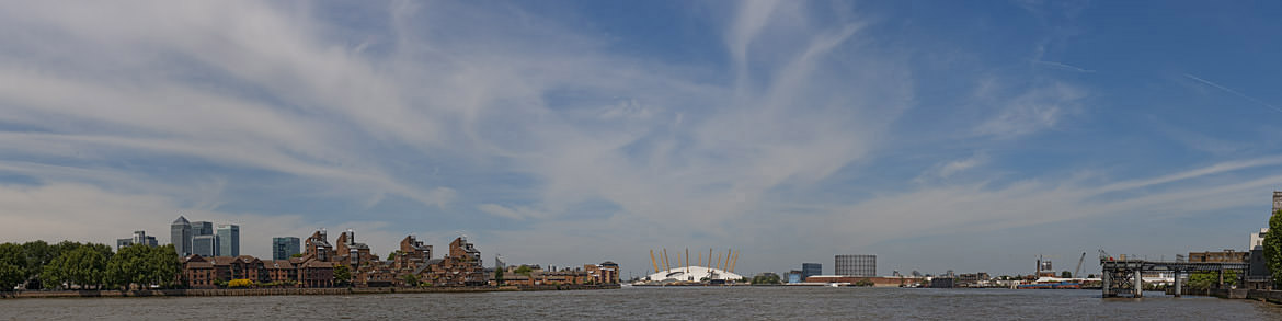 Docklands-Panorama