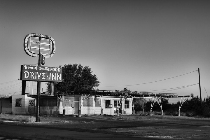 Drive In Diner -  Route 66 Tucumcari - New Mexico