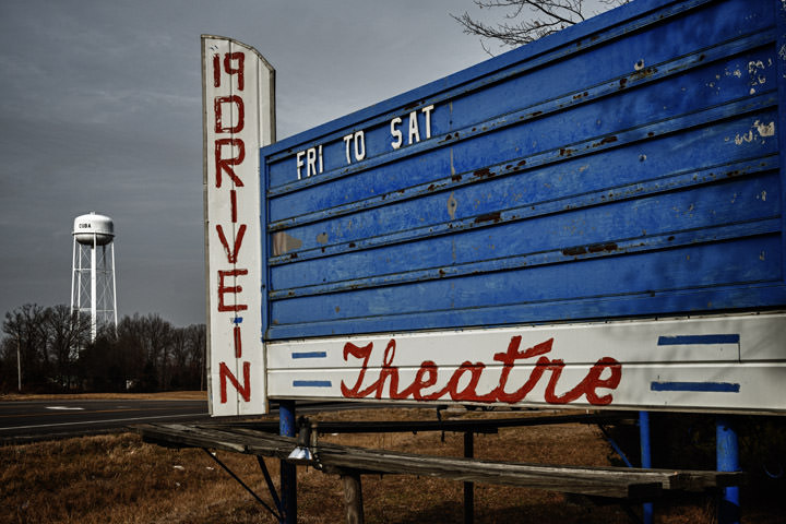 Photograph of Drive In Theatre