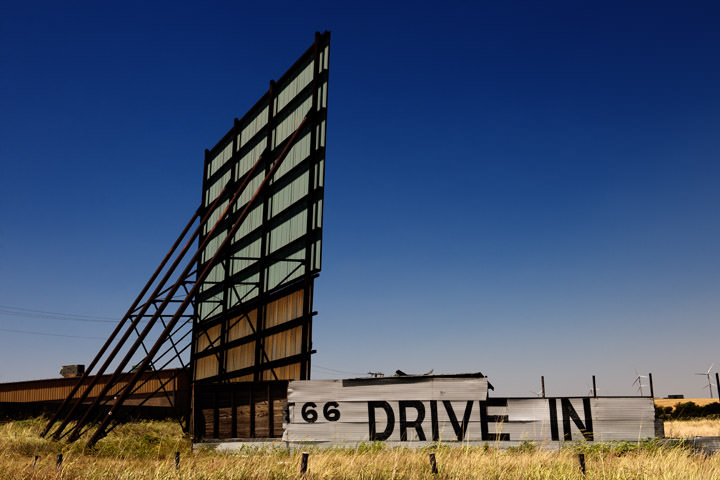 Drive in Theater -  Route 66 - Oklahoma