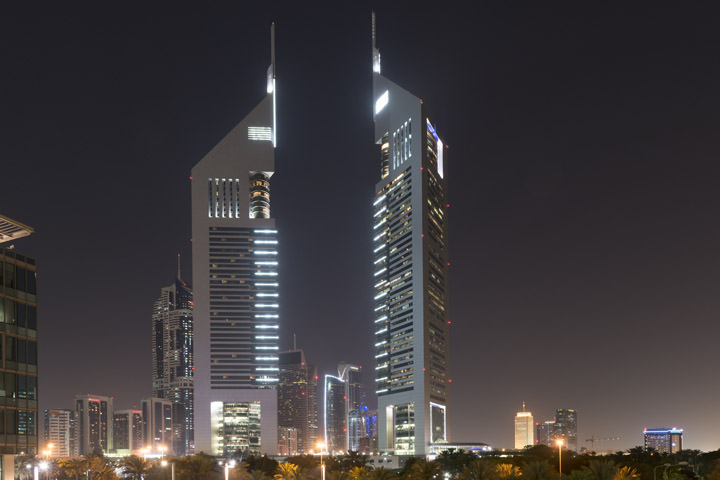 Photograph of Dubai Skyline 1