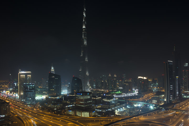 Photograph of Dubai Skyline 11