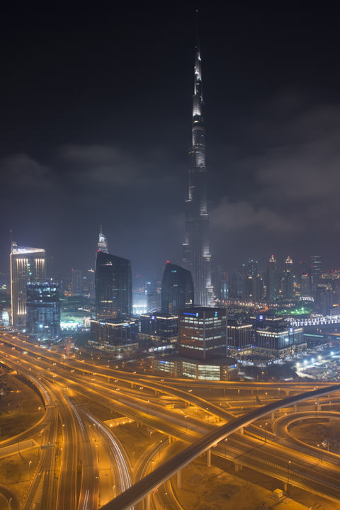 Photograph of Dubai Skyline 13