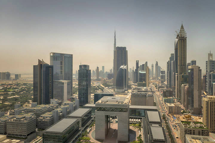 Photograph of Dubai Skyline 17