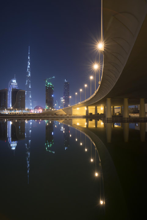 Photograph of Dubai Skyline 21