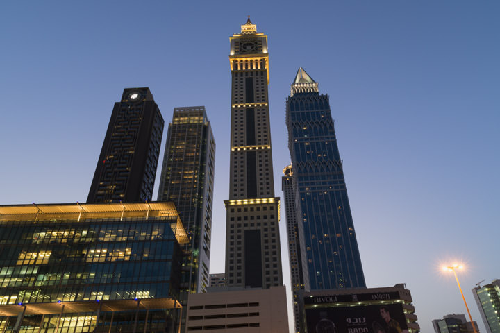 Photograph of Dubai Skyline 28