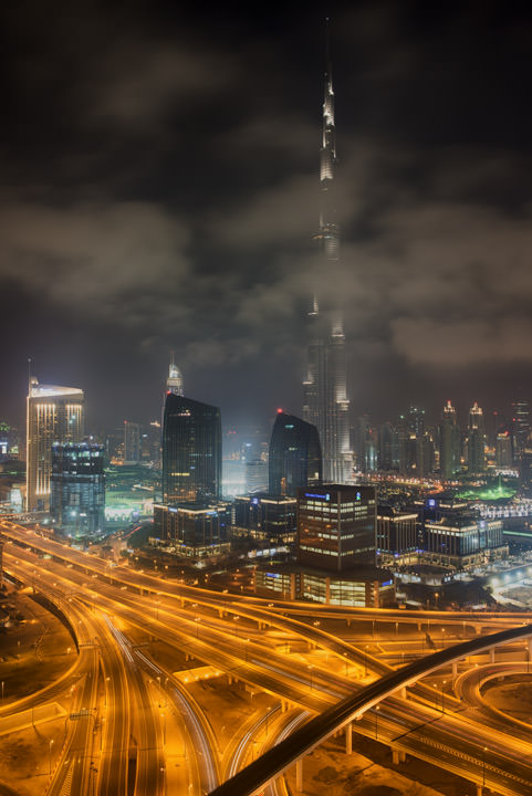 Photograph of Dubai Skyline 29
