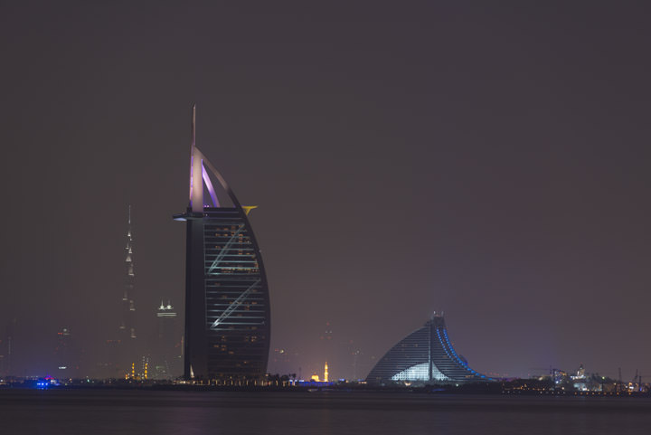 Photograph of Dubai Skyline 3