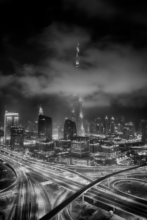 Photograph of Dubai Skyline 31