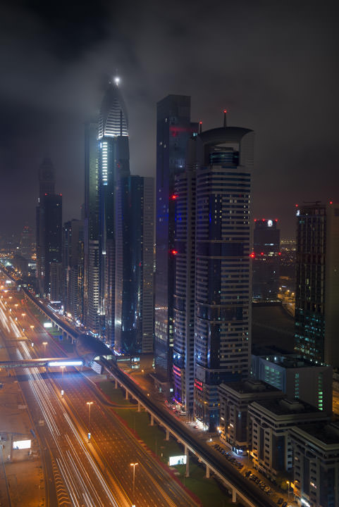 Photograph of Dubai Skyline 32