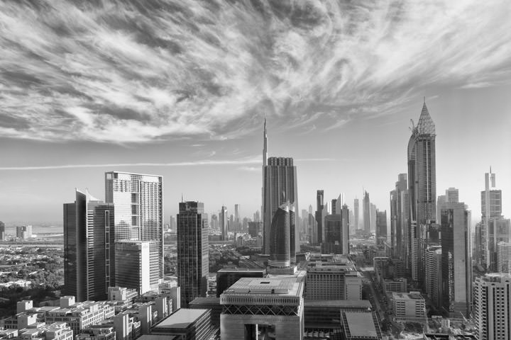 Photograph of Dubai Skyline 33
