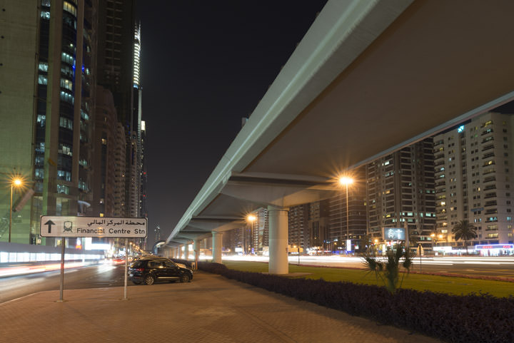 Photograph of Dubai Street Scene 3
