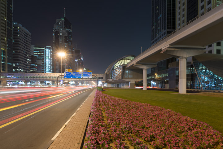 Photograph of Dubai Street Scene 7