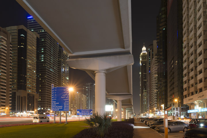 Photograph of Dubai Street Scene 8