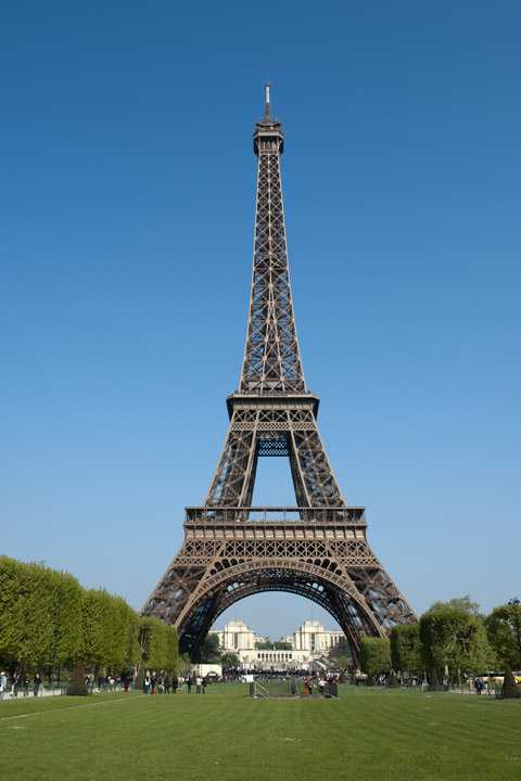 Photograph of Eiffel Tower 2