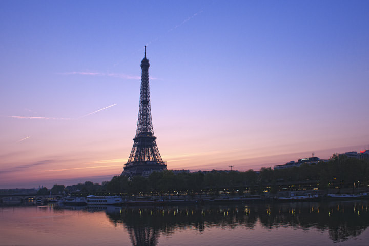 Photograph of Eiffel Tower