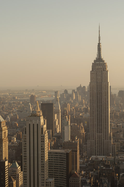 Photograph of Empire state Building 8