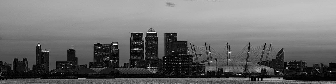 Photograph of Evening at Canary Wharf 1