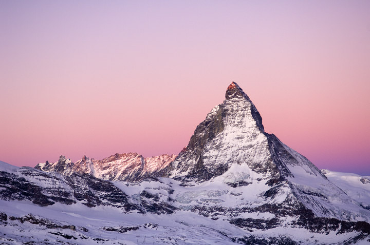 First Light - Matterhorn Matterhorn - Switzerland