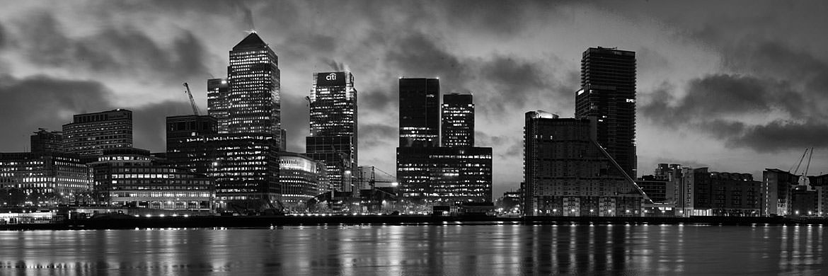 Photograph of First Light at Canary Wharf 1