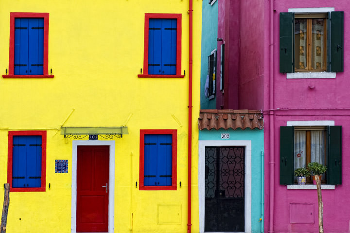Fishermens Cottages Burano - Italy