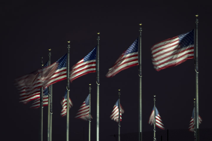 Photograph of Flags of Washington