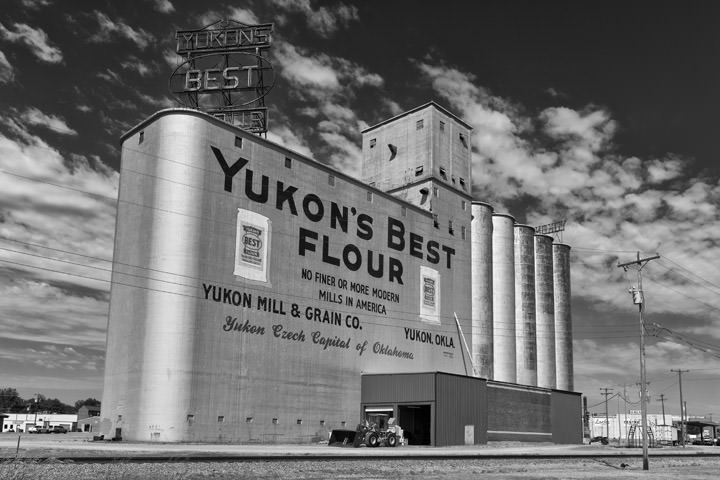 Photograph of Flour Mill - Route 66