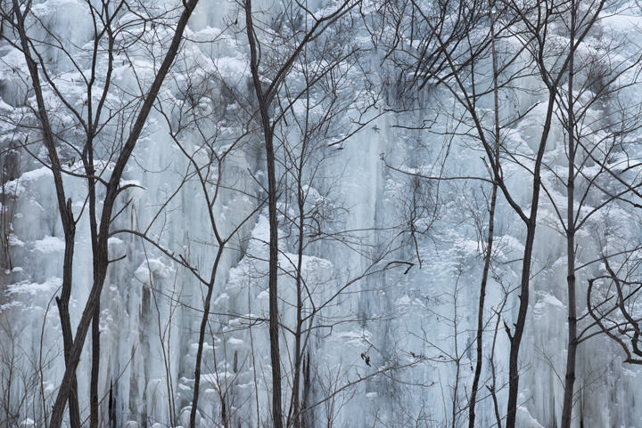 Photograph of Frozen Waterfalls 1