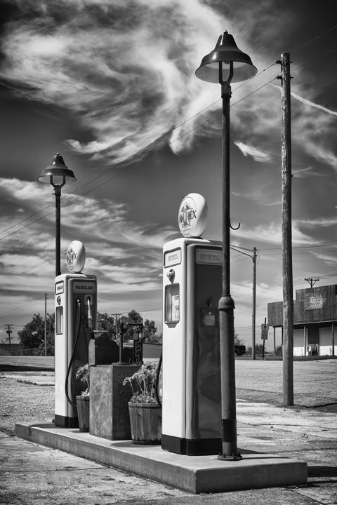 Photograph of Gas Station - Galena