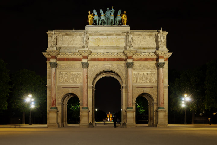 Photograph of Gate Louvre 1