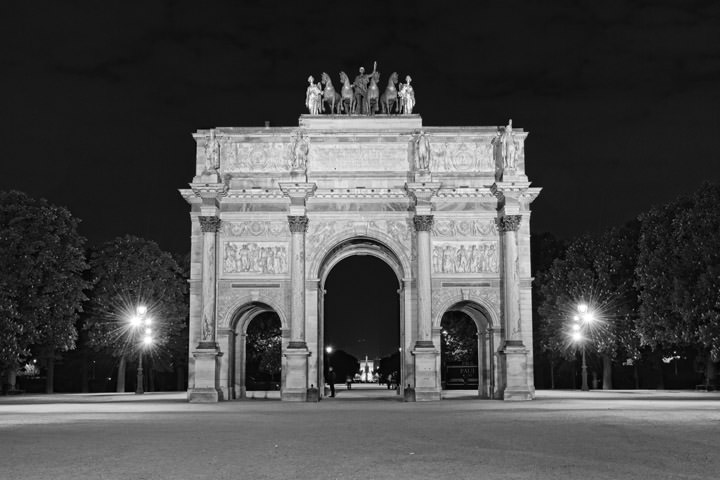Photograph of Gate Louvre 2