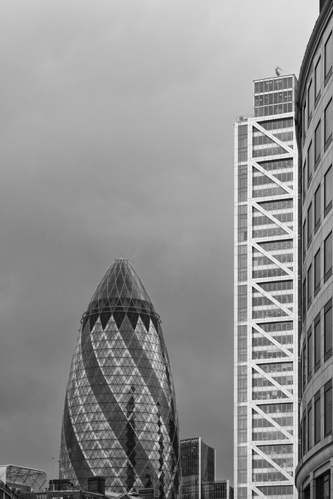 Gherkin and Heron Tower 2
