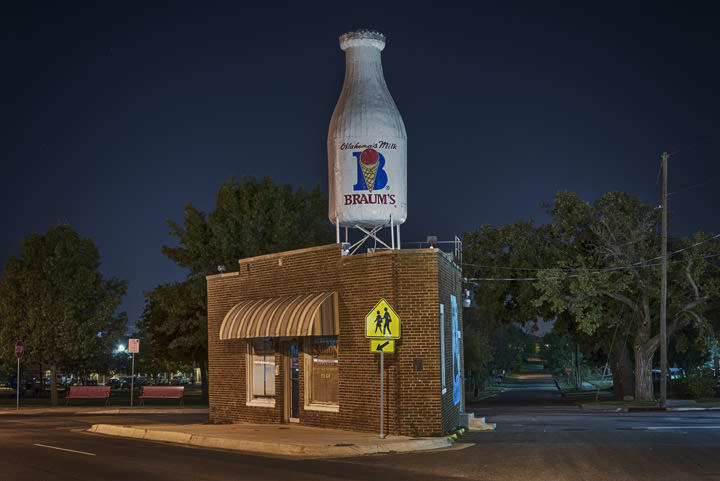 Photograph of Giant Milk Bottle 1