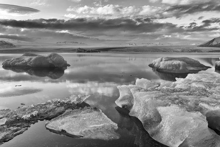 Photograph of Glacial Lagoon  6