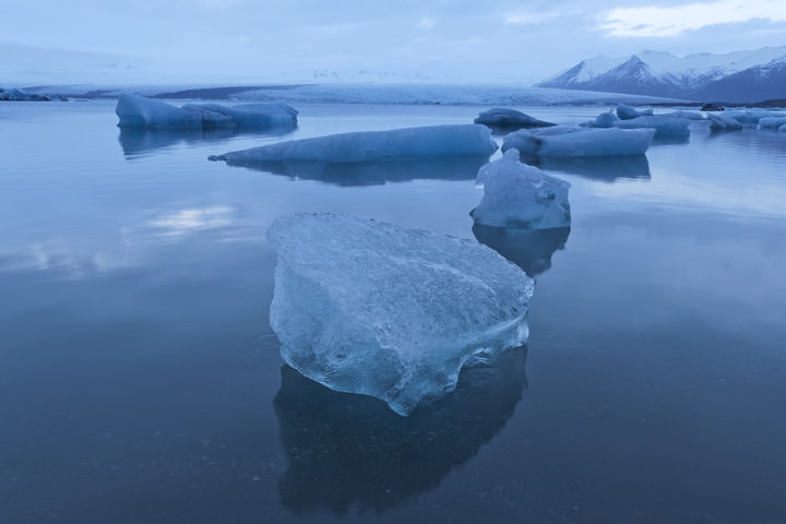 Photograph of Glacial Lagoon  8