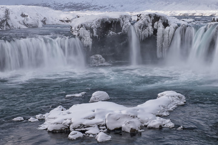 Photograph of Godafoss Waterfalls 1