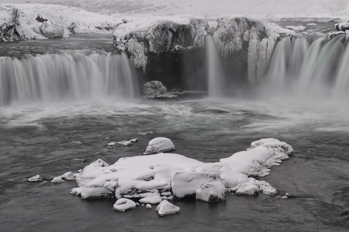 Photograph of Godafoss Waterfalls 3