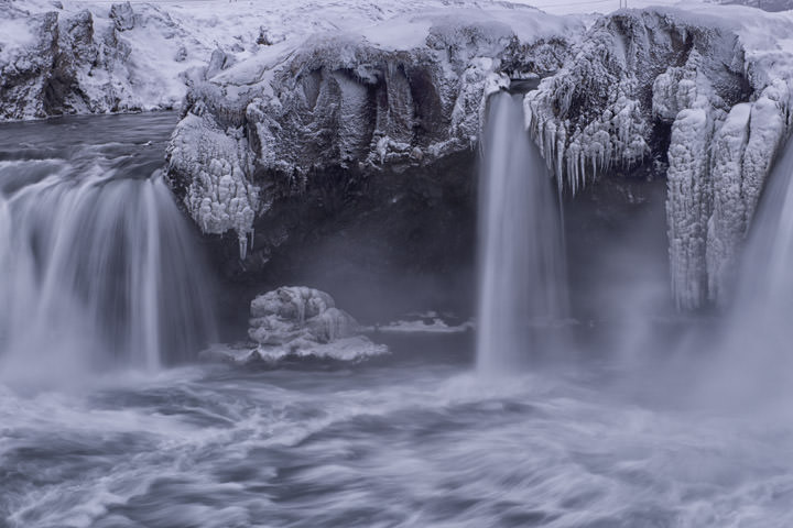 Photograph of Godafoss Waterfalls 5