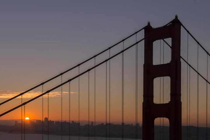 Photograph of Golden Gate Bridge 14
