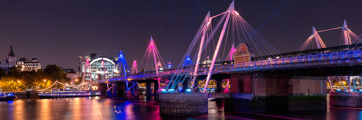 Photograph of Golden Jubilee Bridge 4