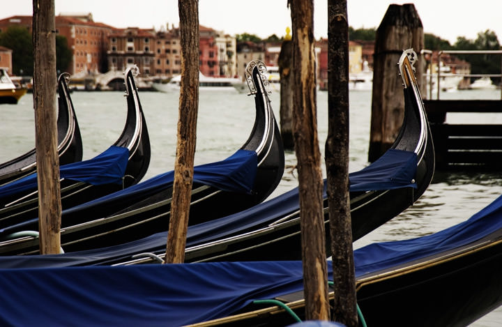 Photograph of Gondolas 1