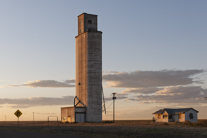 Grain Elevator -  Route 66 Texas